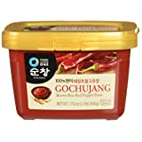 Chung Jung One Sunchang Hot Pepper Paste Gold (Gochujang) 500g (Tamaño: 17.6 Ounce (Pack of 1))