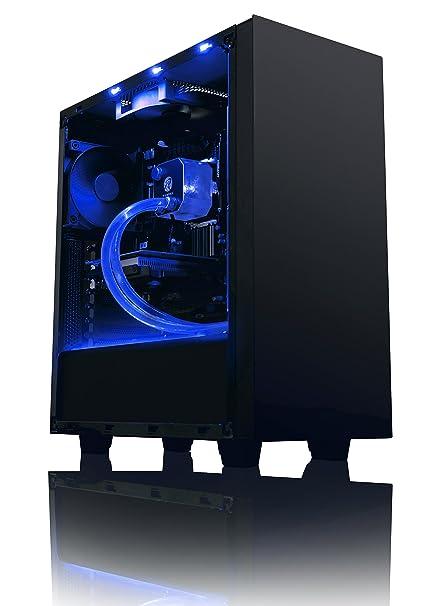 Vibox Theta 1 Unité centrale Noir (AMD Athlon 64 fx, 8 Go de RAM, 1 To, AMD Radeon R7 250)