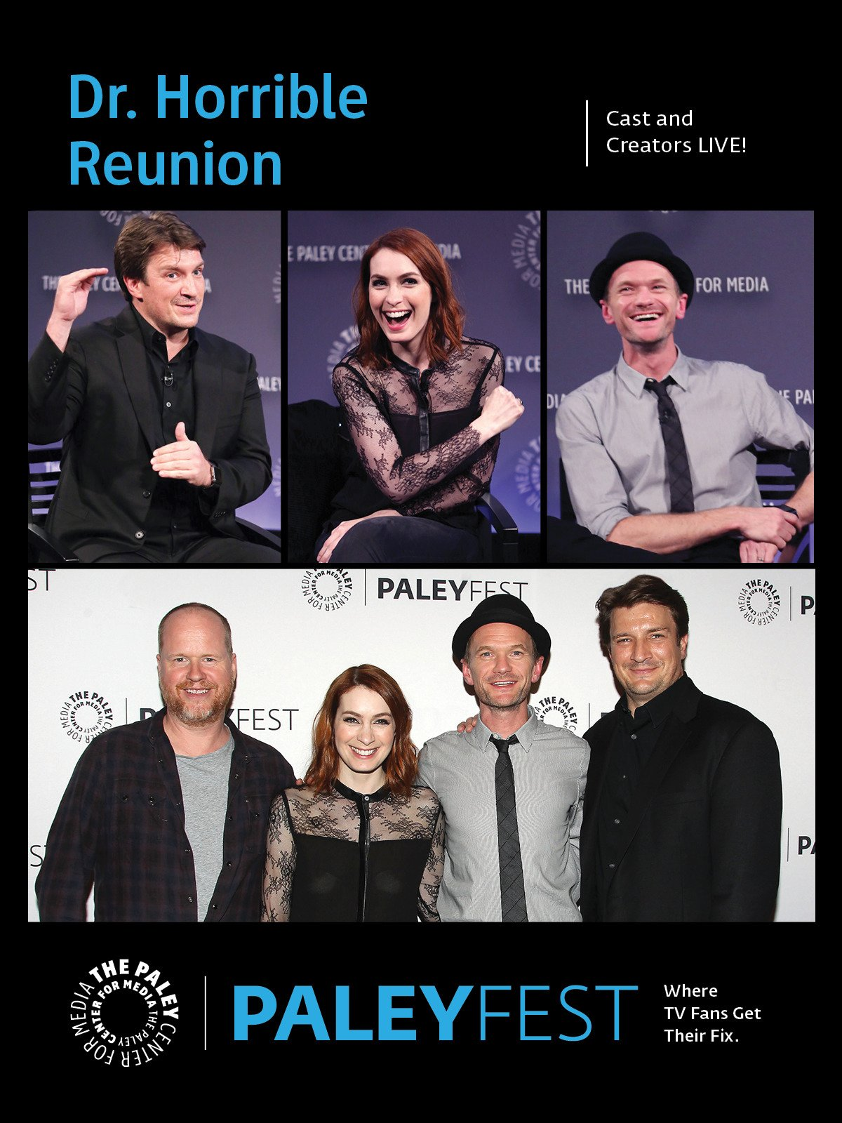 Dr. Horrible Reunion: Cast and Creators PaleyFest