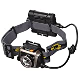 Fenix HP15 UE 4AA Headlamp w/Batteries,900 Lumens,Gray HP15UEGY-B (Color: grey, Tamaño: Small)