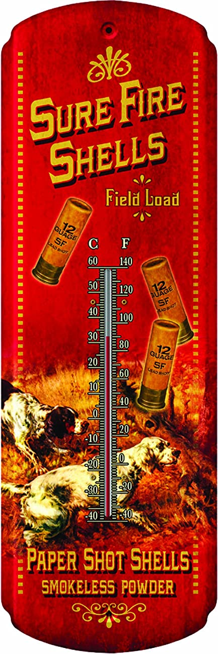 Rivers Edge Nostalgic Tin Thermometer 0