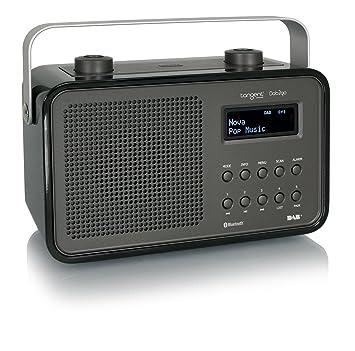 Tangent T-DAB2GO-BT/BK Radio portable Noir