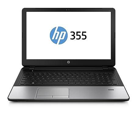 """HP 355 G2 PC Portable 15"""" Gris/Noir (Autre/Other, 4 Go de RAM, 500 Go, AMD Radeon, Windows 8"""