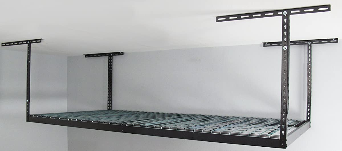 Monsterrax 4x8 Overhead Garage Storage Rack Heavy Duty