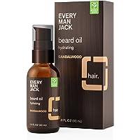Every Man Jack Sandalwood Beard Oil (1 Fluid Ounce)
