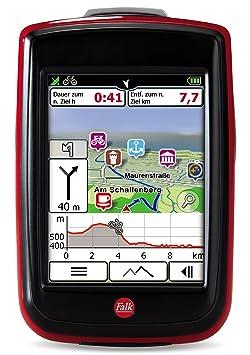 Falk 1675210000 GPS Noir, Rouge