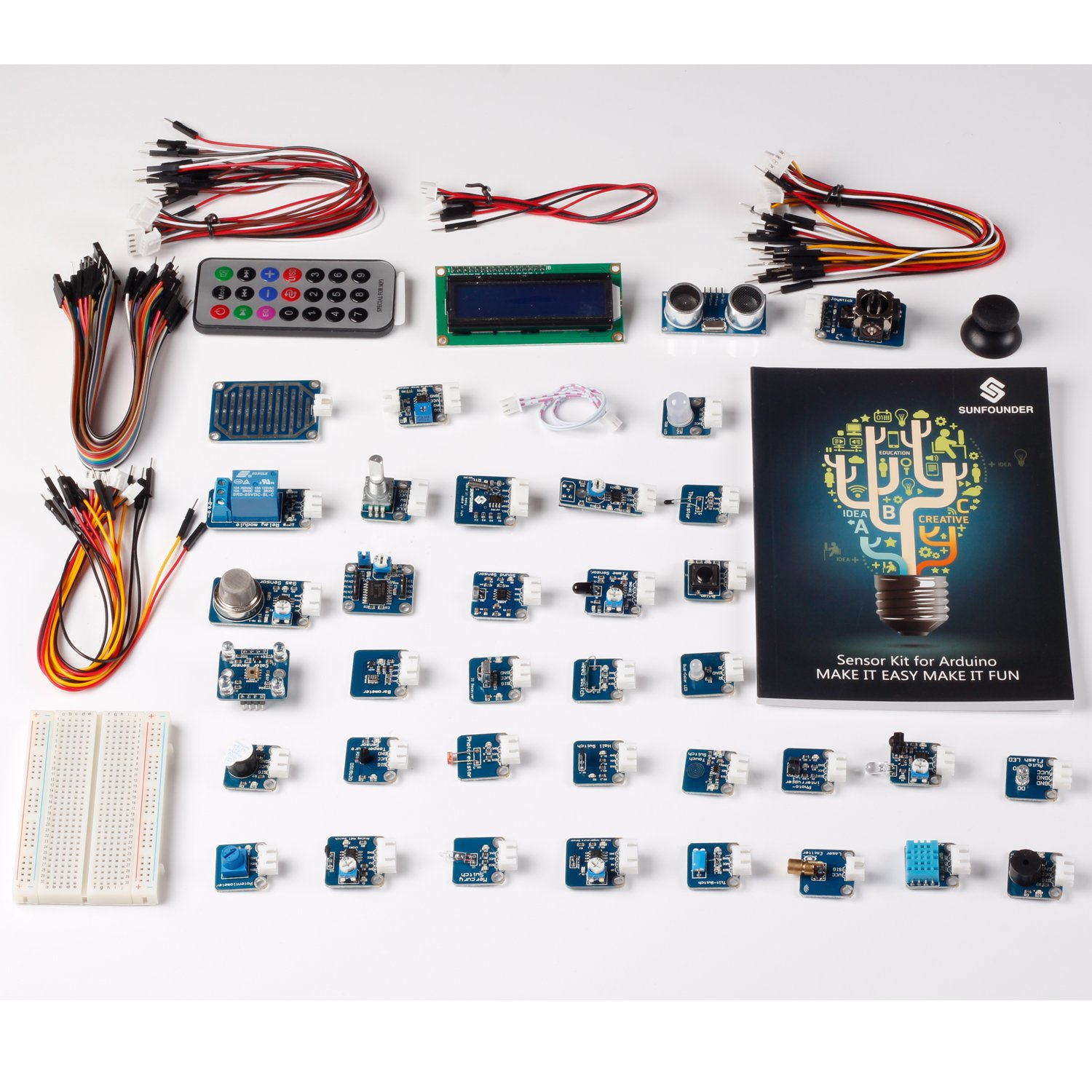 Sunfounder modules arduino sensor kit v for