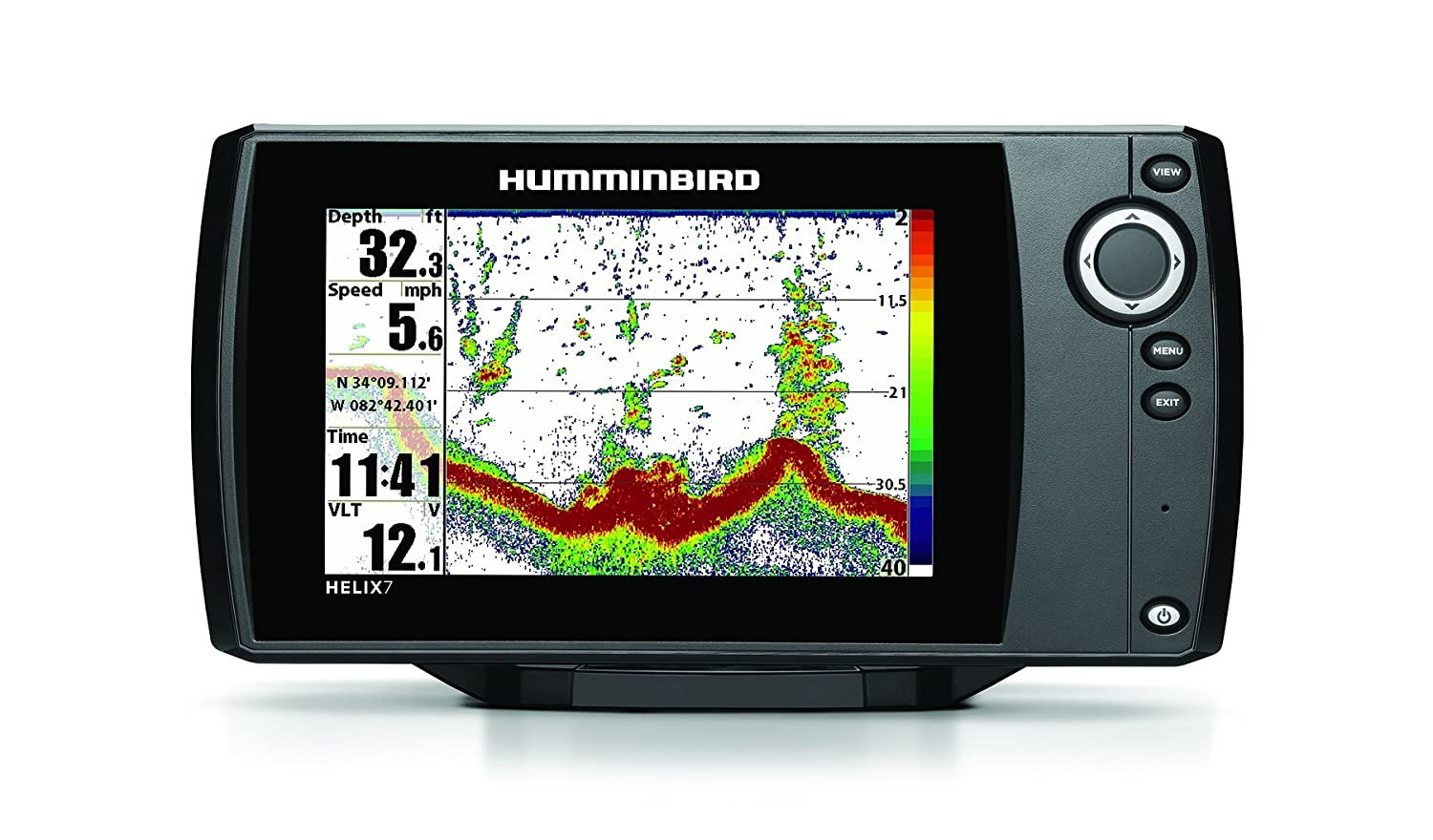 Humminbird 409790-1 Helix 7 Fishfinder with Dual Beam Plus Sonar