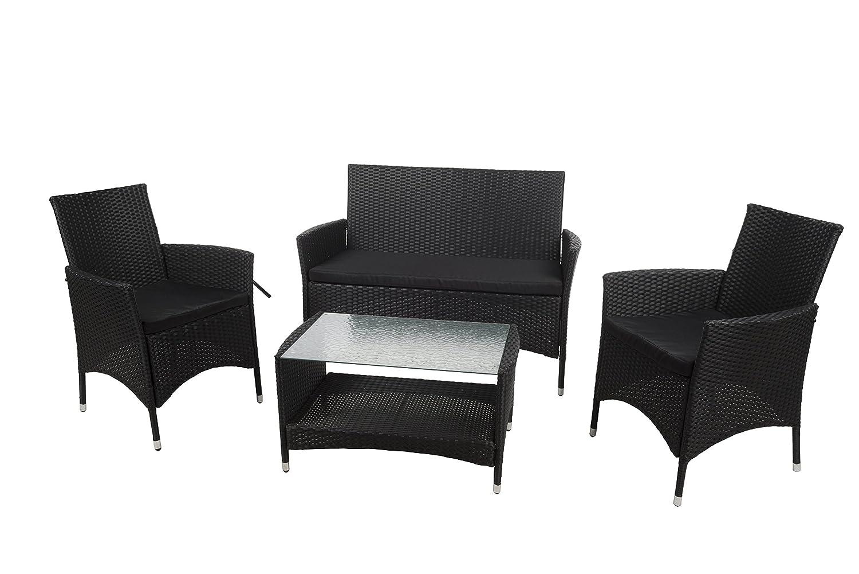 Homestyle Lounge Set Brasil, schwarz