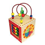 Hape Discovery Box Wooden Activity Center Baby Toy