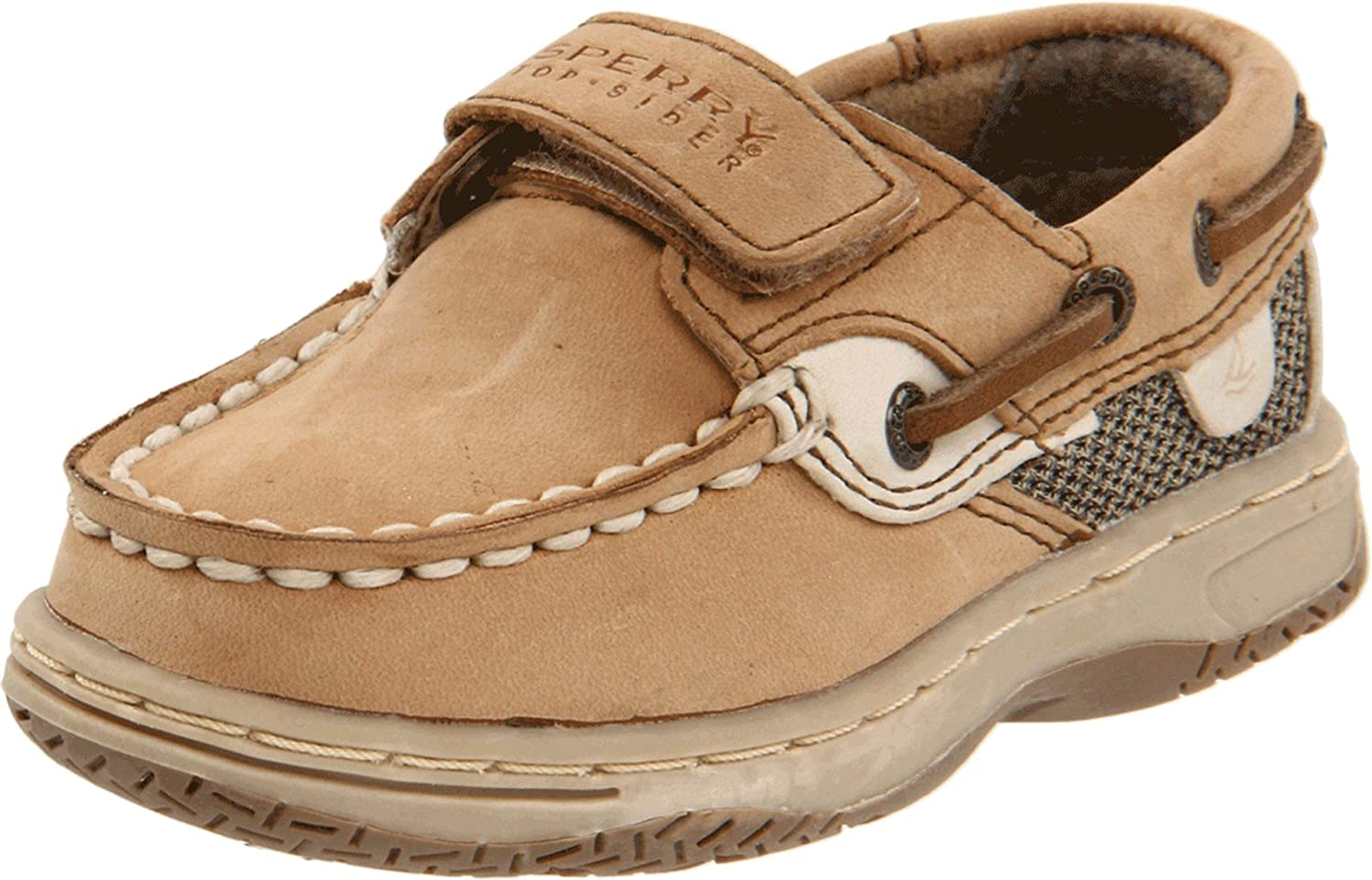 Sperry Shoes Toddler Girls Tan Brown Top-Sider Leather Animal Print, size M. Shoes are in very good pre-owned condition. Some marks on top of right shoe (see pics).