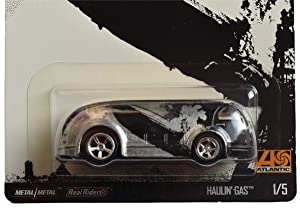Hot Wheels Haulin Gas 1/5, Black/Silver