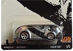 Hot Wheels Haulin Gas 1/5, Black/Silver