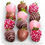 Golden State Fruit 12 Love Berries Chocolate Covered Strawberries