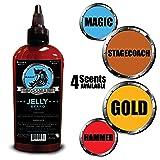 Bossman Beard Oil (4oz) - Eliminates Beard Itch, Bigger Bottle, Thicker Growth, All Natural, American Made, Non Greasy Jelly Beard Oil (Magic Scent) (Color: Magic, Tamaño: 4 OZ)