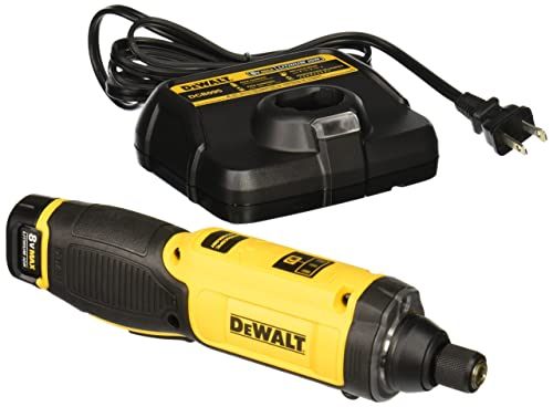 DEWALT DCF682N1 8V MAX Gyroscopic Inline Screwdriver via Amazon