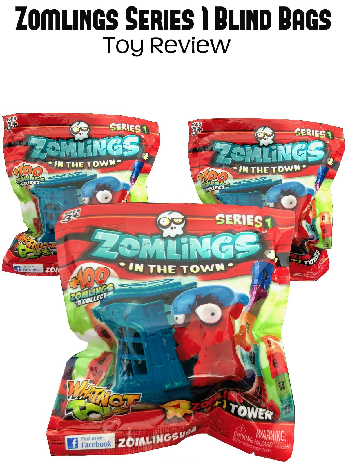 Review: Zomlings Series 1 Blind Bags Toy Review on Amazon Prime Video UK