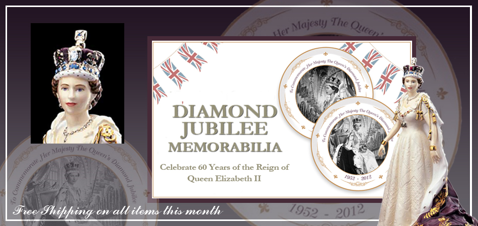 click here for Queen Elizabeth II Diamond Jubilee Memorabilia