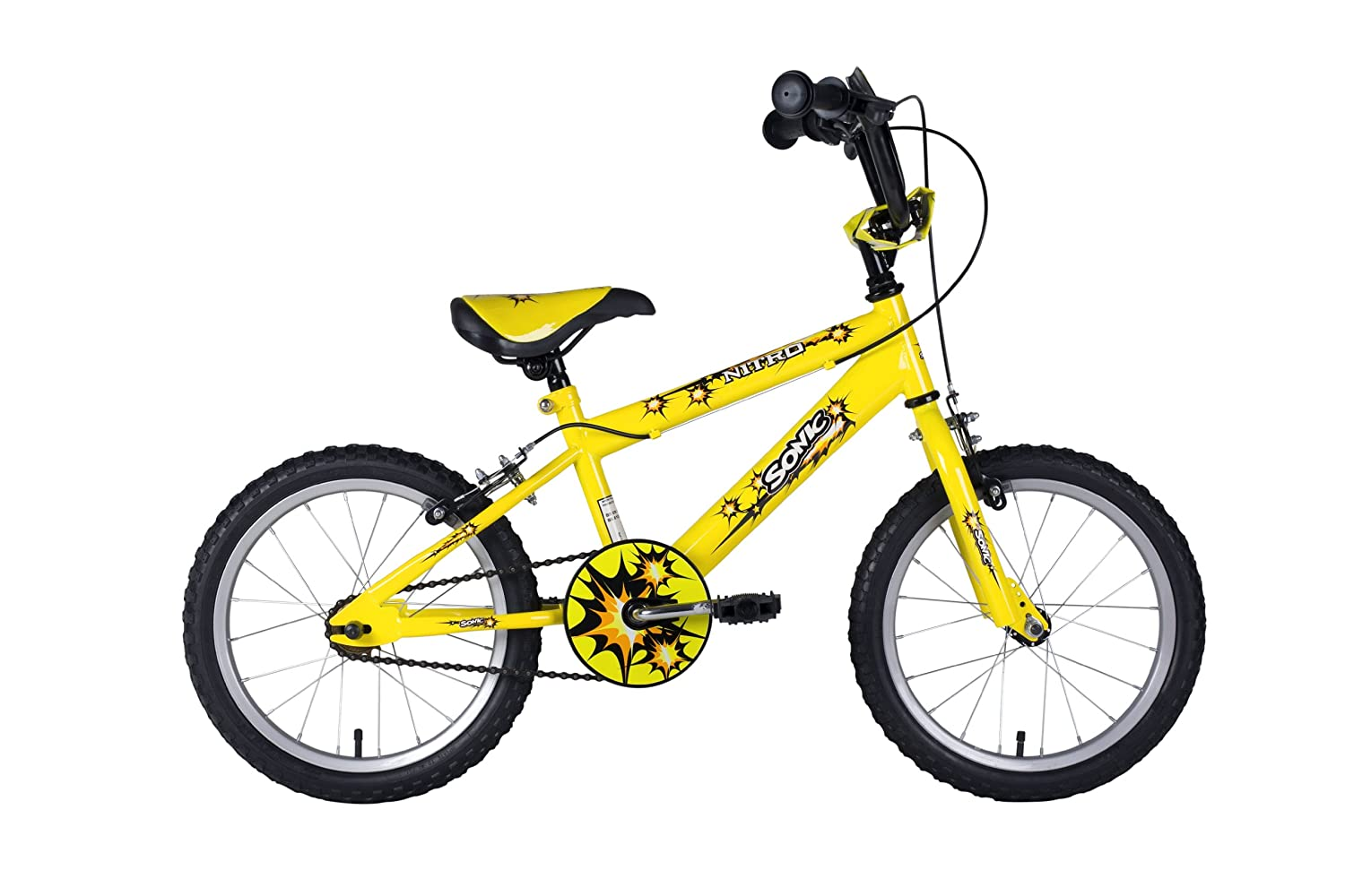 Bikes For Toddlers 3-4 Years Sonic Nitro Junior Boys BMX