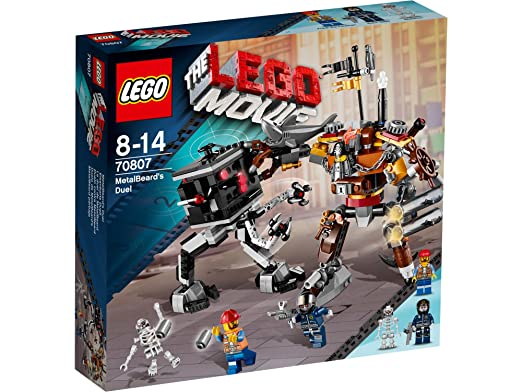 The Lego Movie - 70807 - Jeu De Construction - Le Duel De Barbe D'acier