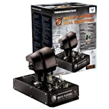 ThrustMaster Hotas Warthog Dual Throttles (PC DVD)(Black) (Color: black)