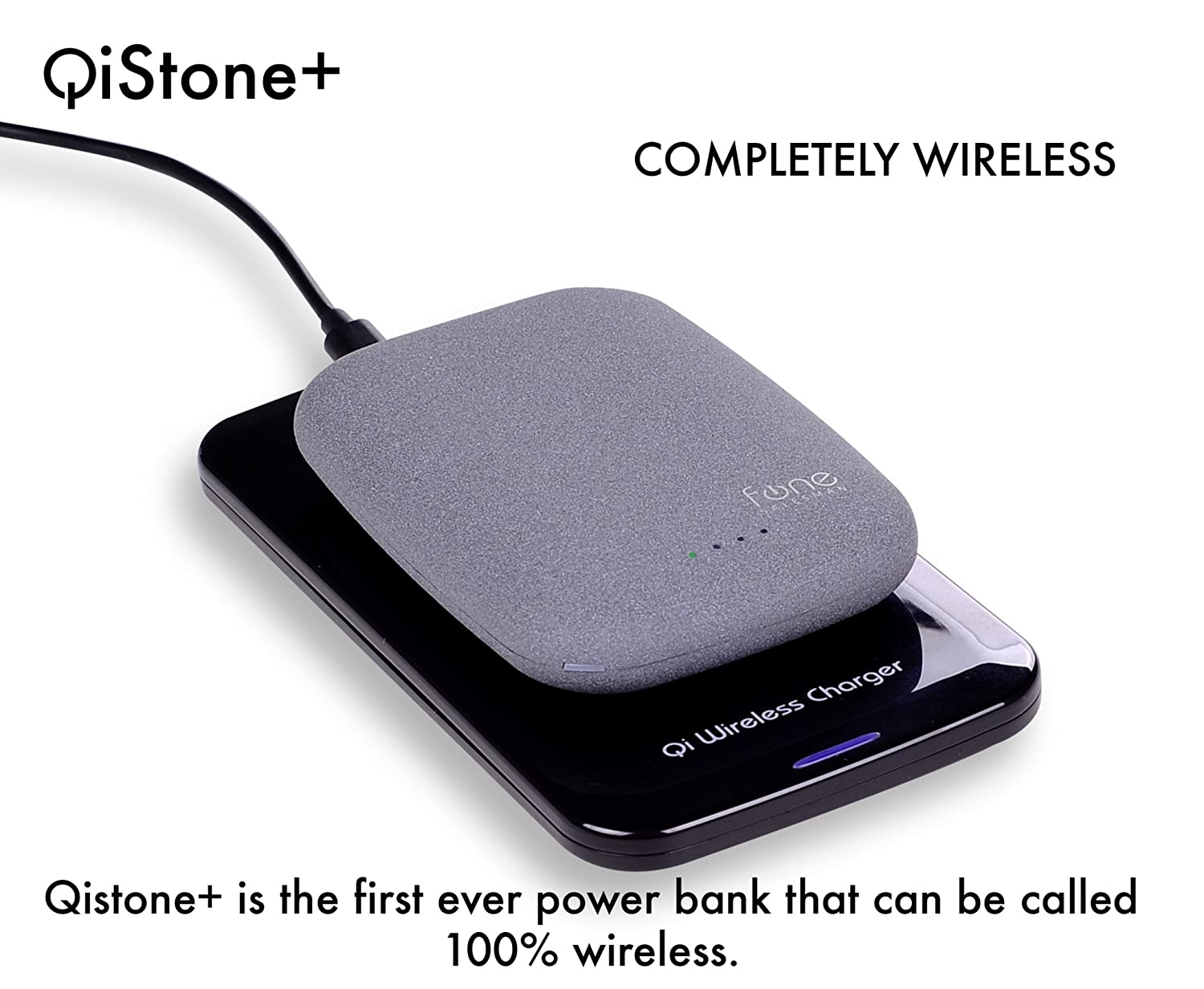 qistone qi portable wireless charger for samsung s6 amp other compatible phones ebay. Black Bedroom Furniture Sets. Home Design Ideas
