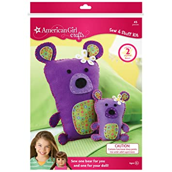 Amazon.com - American Girl Crafts Bears Sew and Stuff Kit - Childrens Scrapbooking Kits