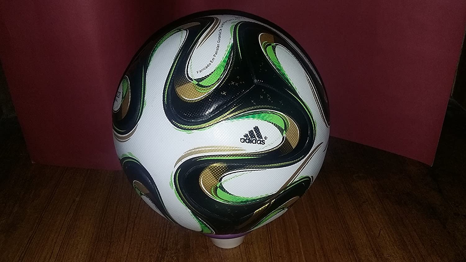 adidas 2014 FIFA World Cup Brazuca Final Rio Match Ball Replica Top Glider Size 5 ornamentation bathroom accessories bath hardware high quality full brass towel bar aliexpress delivery logistics guarantee