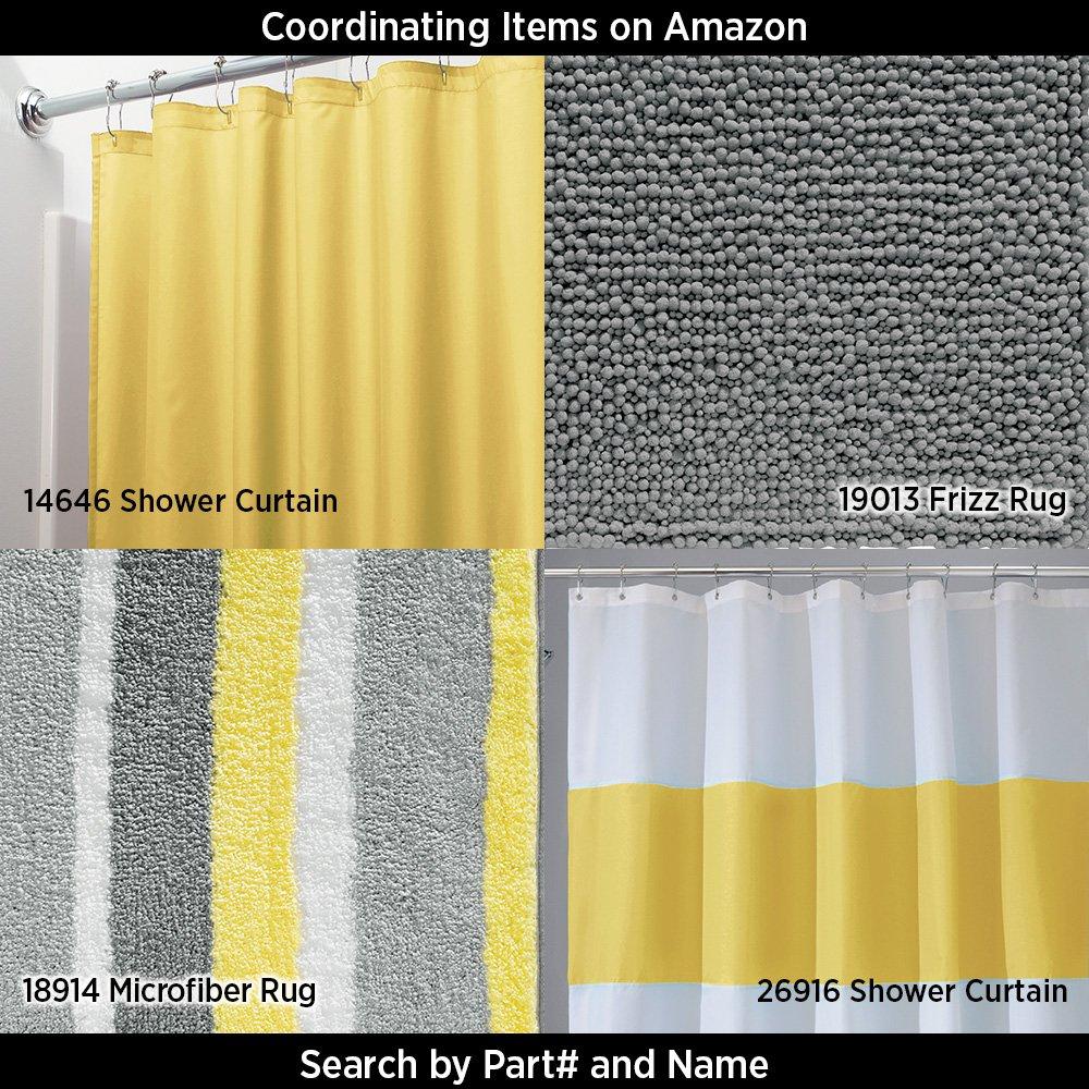 InterDesign Novelty EVA Shower Curtain 72 X 72 Inch