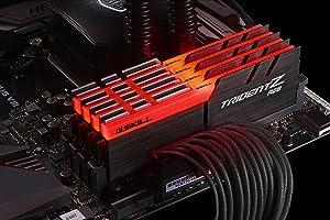 32GB G.Skill DDR4 TridentZ RGB 3200Mhz PC4-25600 CL14 1.35V Quad Channel Kit (4x8GB) for Intel/AMD