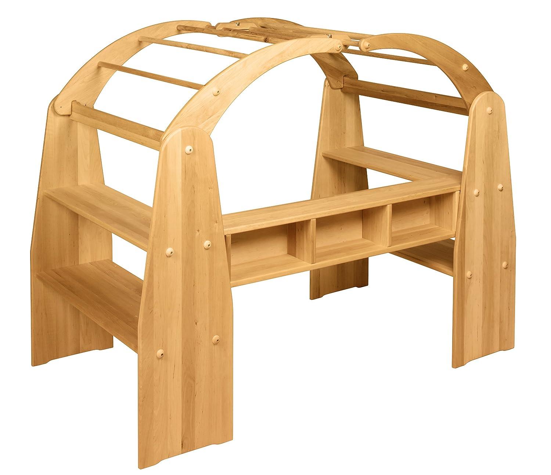 BioKinder 22121 Anna Spielhaus Kaufladen komplett aus Massivholz Erle