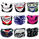 ANMIXIN High Elastic Headband Outdoor Sport Hood Outdoor Seamless Magic Turban Ride A Bike Suitable for Cycling, Skiing, Running, Hiking,Tennis, Motorcycle, Bicycle, Mountain Climbing (9, polyester)