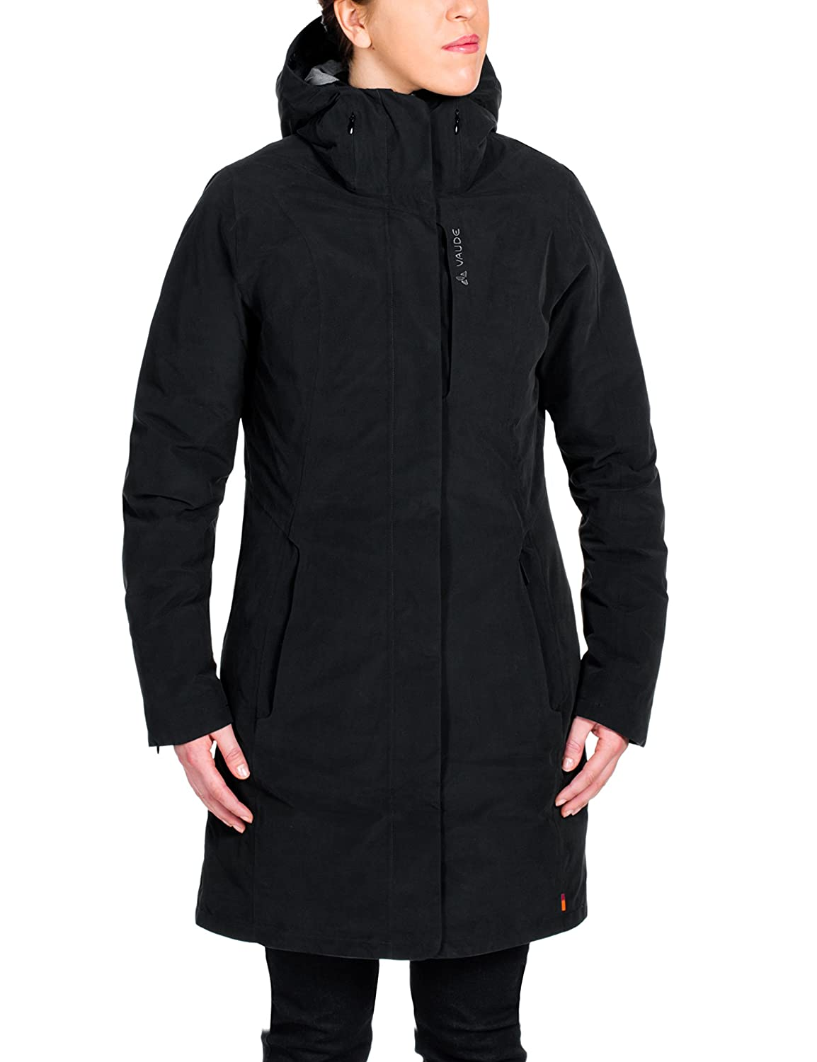 VAUDE Damen Doppeljacke Annecy 3-in-1 Coat, Black, 34, 05673