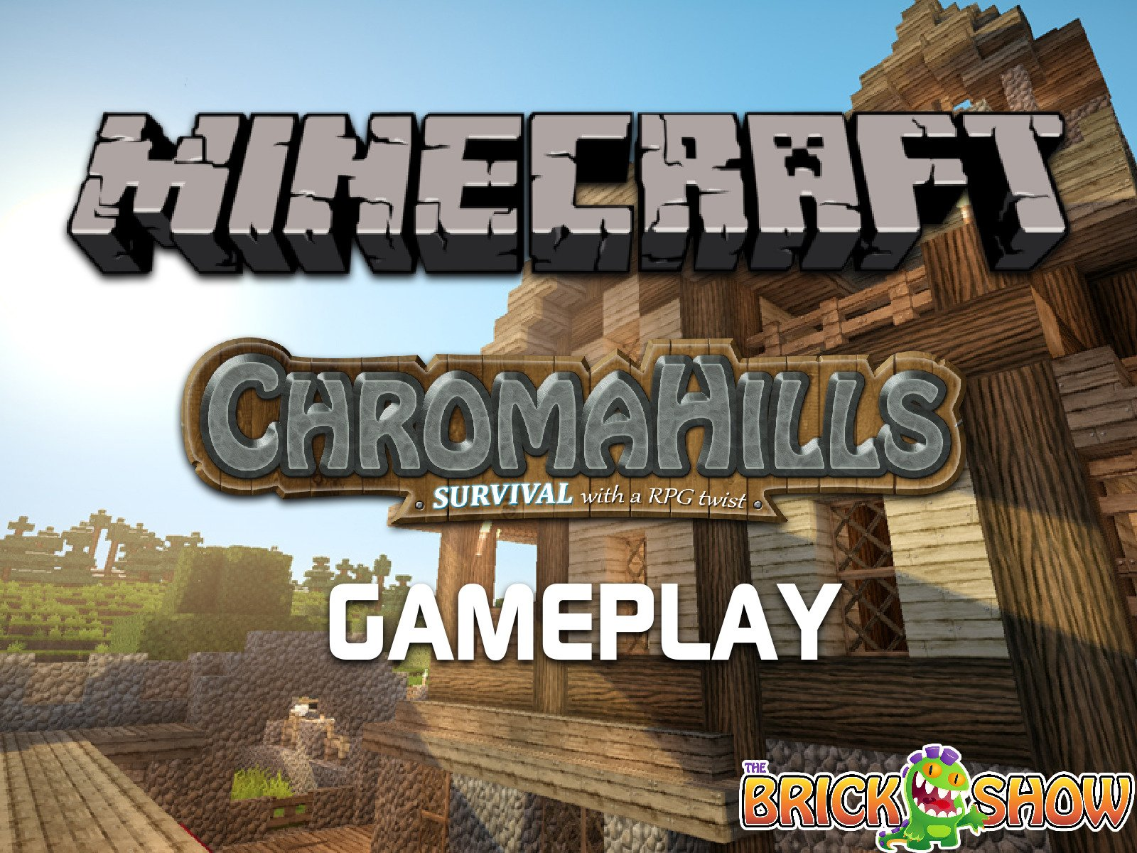 Clip: Minecraft Chroma Hills Survival With A RPG Twist Gameplay