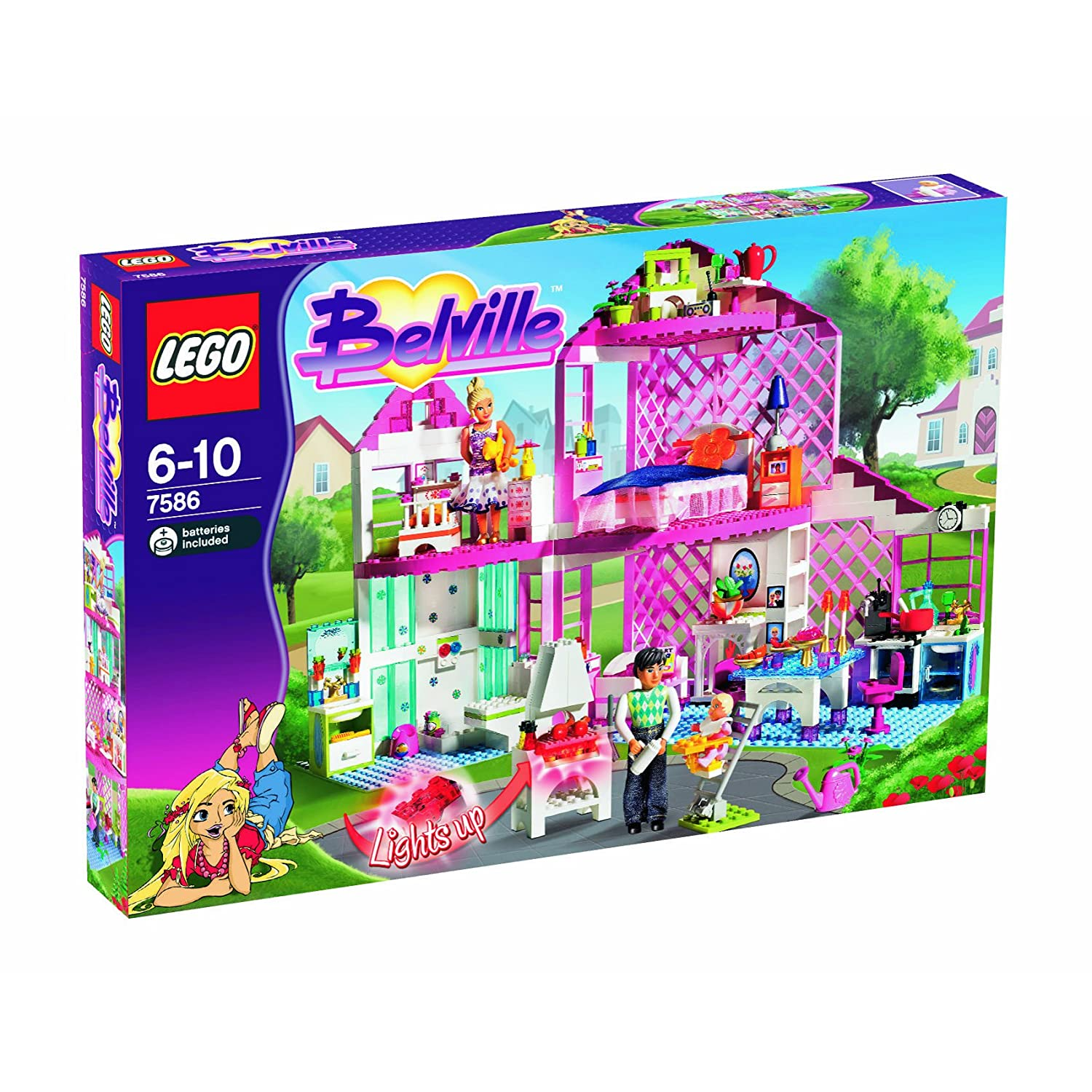 Lego Toys For Girls : Legos for girls cake ideas and designs