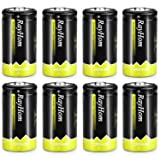 RayHom C Rechargeable Battery 5000mAh Ni-MH High Capacity Battery (8 Pack)
