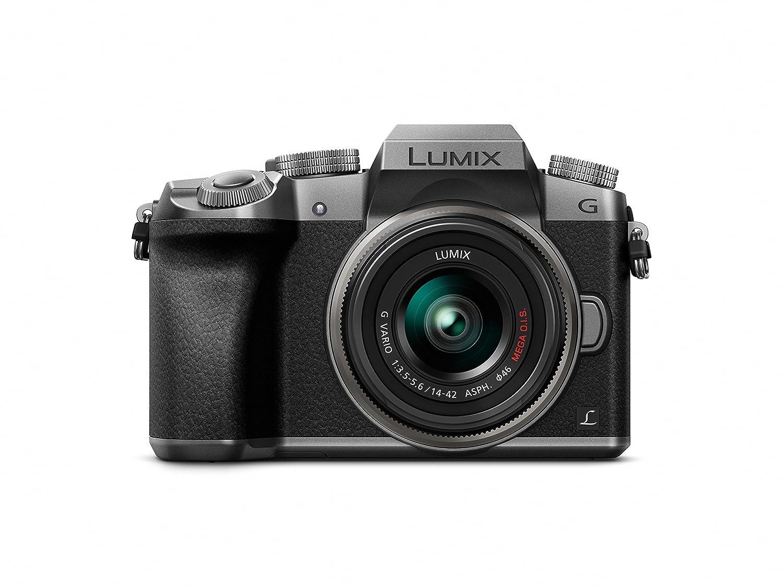 Panasonic DMC-G7KS Digital Single Lens Mirrorless Camera 14-42 mm Lens Kit, 4K
