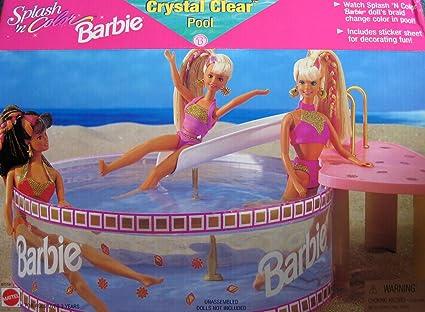 Barbie Splash And Slide Splash 'n Color Barbie Crystal