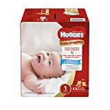 Huggies Little Snugglers Baby Diapers, Size 1, 100 Count, GIGA JR Pack (Packaging May Vary) (Tamaño: Size 1)