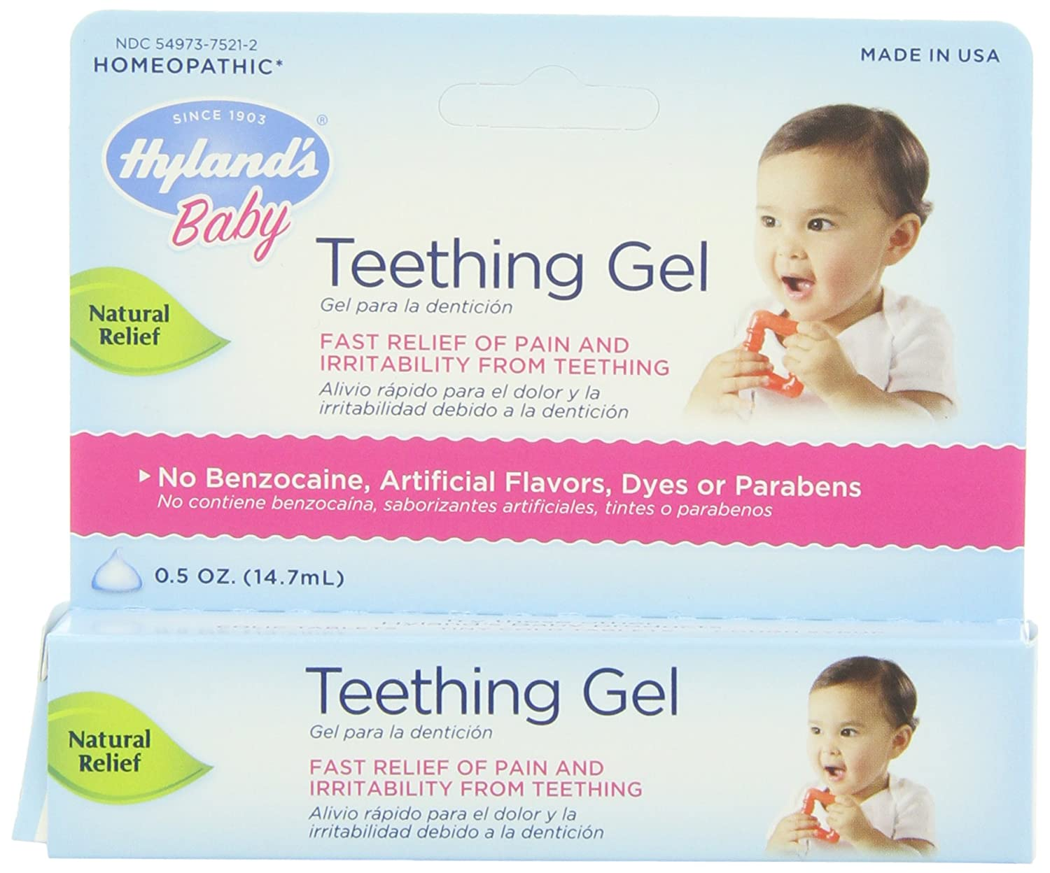 Hyland's Teething Gel, 0.5 Ounce