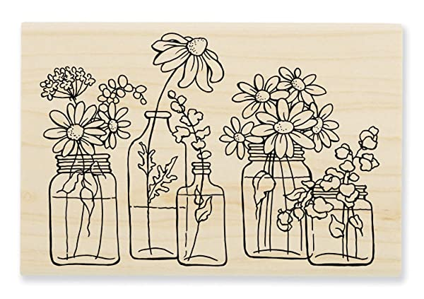 Stampendous Cling Stamp Birch Forest