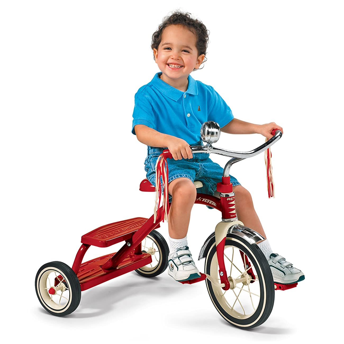 Radio Flyer Classic Red Dual Deck Tricycle 4