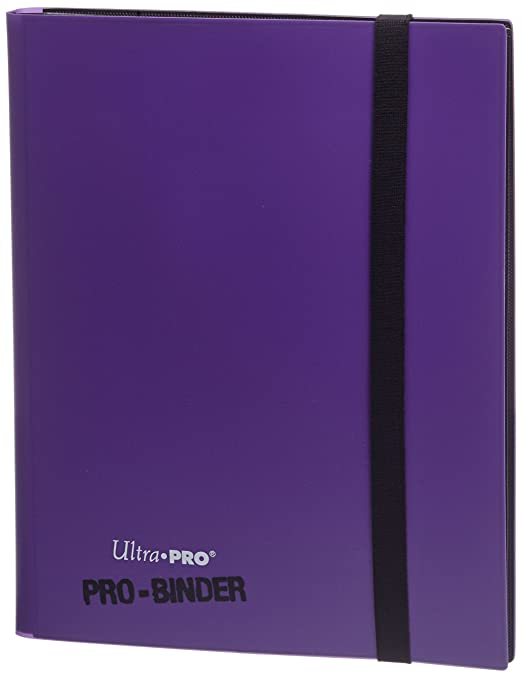 Ultra Pro - 330499 - Jeu De Cartes - Pro-binder - Pourpre - C6