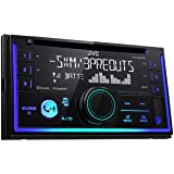 JVC In-Dash CD Receiver (KW-R930BT) (Color: Black, Tamaño: Double DIN)