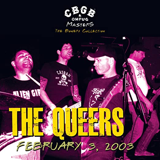 Live, February 3, 2003 - The Bowery Collection