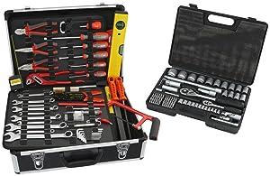 Famex 74250 Universal Werkzeugkoffer mit Steckschlüsselsatz  BaumarktKundenbewertung und Beschreibung