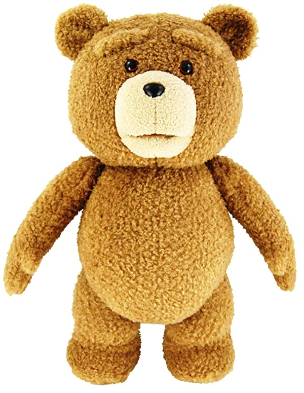 Ted 24 Plush with Sound, 12 Phrases