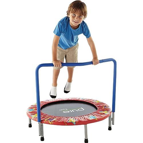 Pure Fun 36-Inch Kids Mini Trampoline