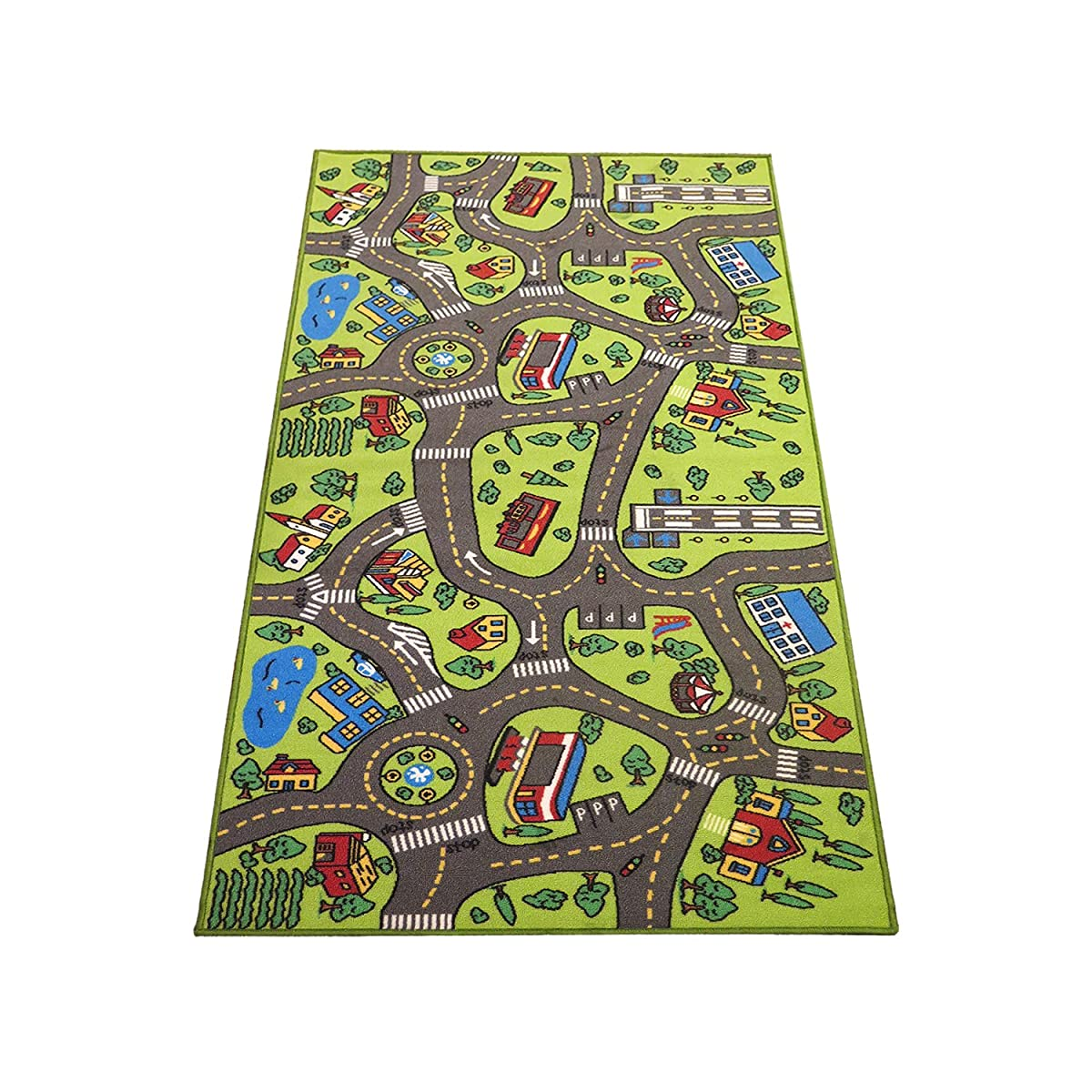 "Extra Large 79"" X 40""! Kids Carpet Playmat Rug- Great For"