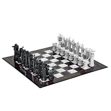 Harry Potter - Jeu D'Echecs - Wizard Chess Set - 32 pièces & Echiquier